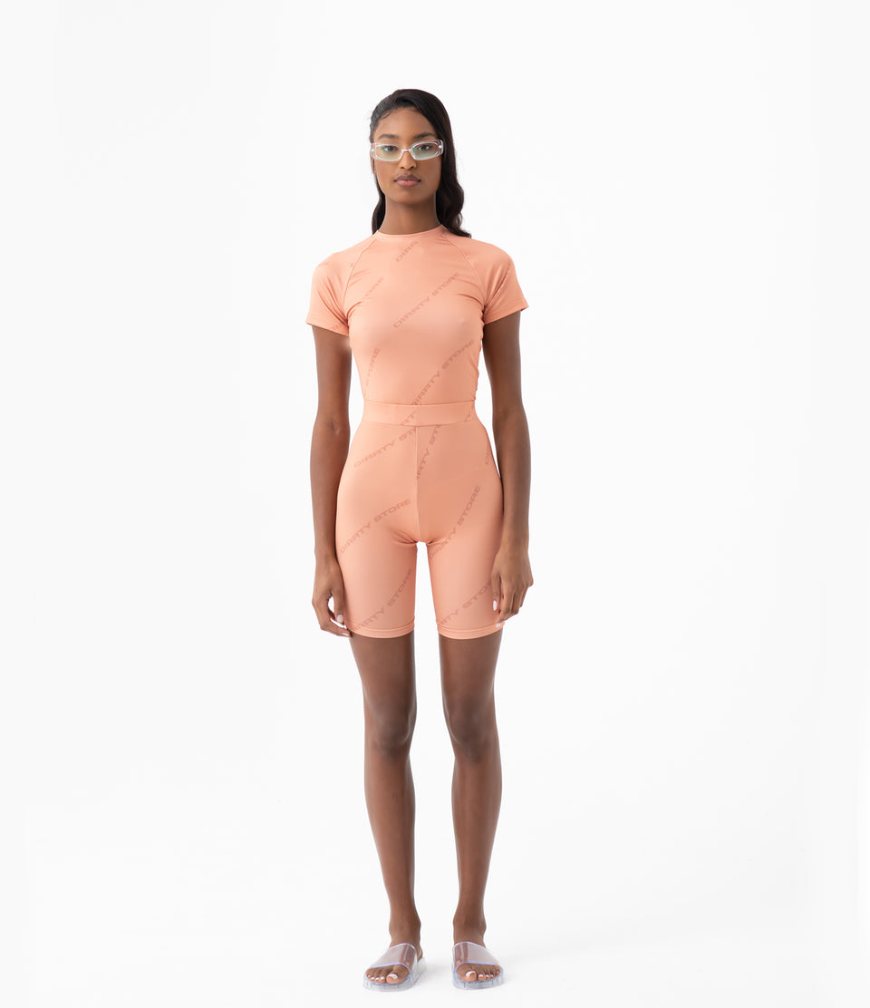 DS Peach Sport Active-Wear Set