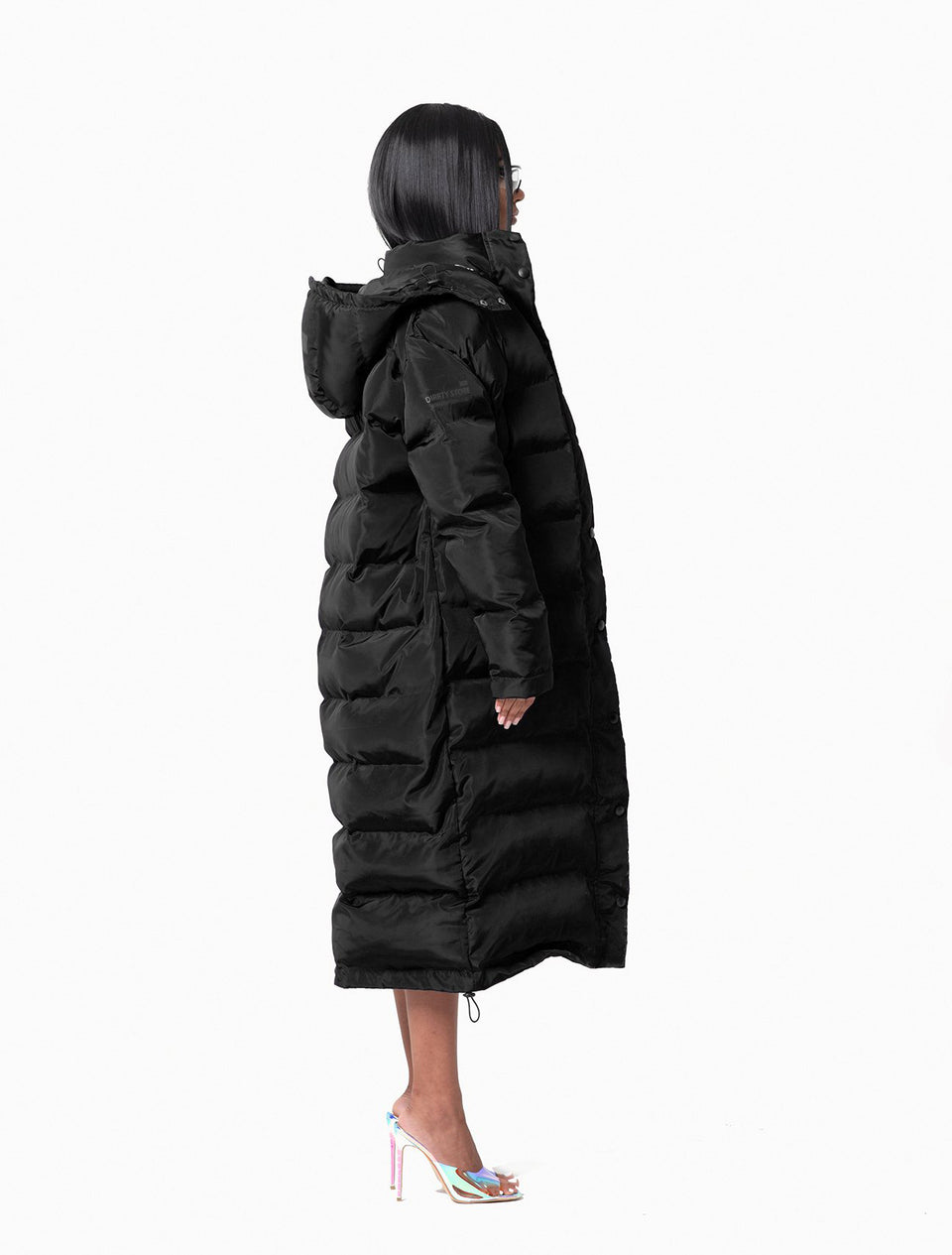 DS Black Puffer Down Coat