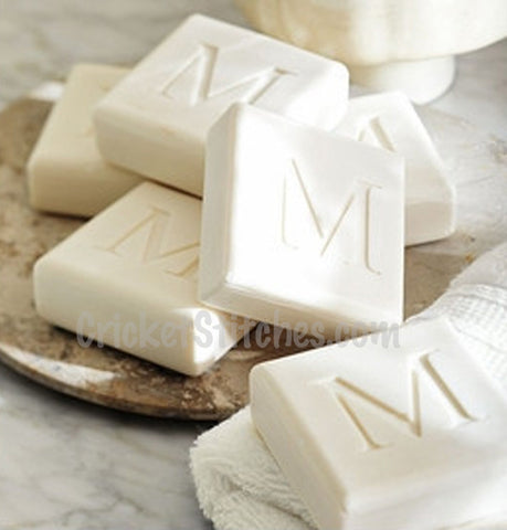 Monogrammed Guest Soap-Set of 4