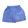 blue chambray boxer shorts for babies
