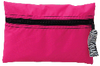 Mint hot pink zebra cosmo bag