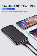 Load image into Gallery viewer, KUULAA Power Bank 10000 mAh PowerBank Portable Charging Poverbank 10000mAh USB External Battery Charger For Xiaomi Mi 9 8 iPhone