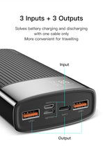 Load image into Gallery viewer, KUULAA 20000mAh Power Bank For iPhone Samsung Huawei Type C PD Fast Charging + Quick Charge 3.0 USB Powerbank External Battery