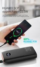 Load image into Gallery viewer, KUULAA Power Bank 30000mAh USB Type C PD Fast Charging + Quick Charge 3.0 PowerBank 30000 mAh External Battery For Xiaomi iPhone