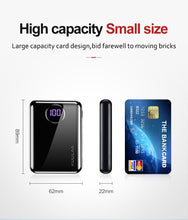 Load image into Gallery viewer, KUULAA Power Bank 10000mAh Portable Fast Charging PowerBank 10000 Dual USB Mini External Battery Charger For Xiaomi Mi PoverBank