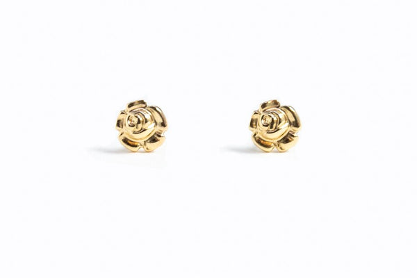 Bloom Stud Earrings - 14K GF