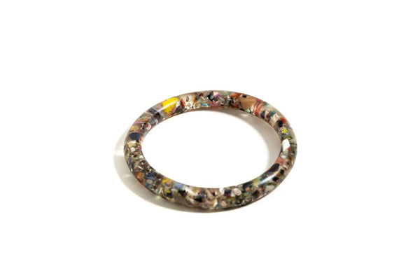 Ella Recycled Material Bangle