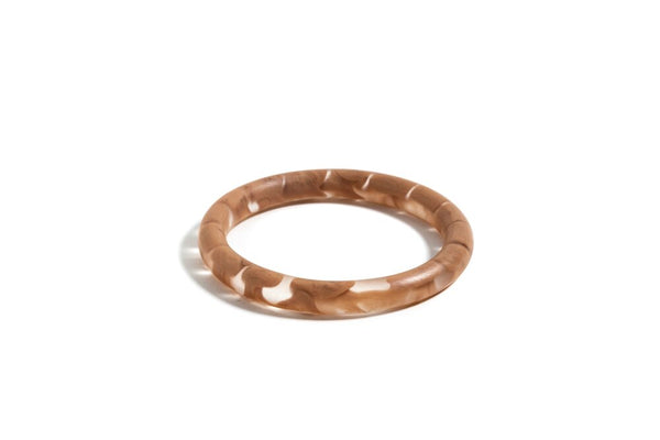 Slim Latte Bangle