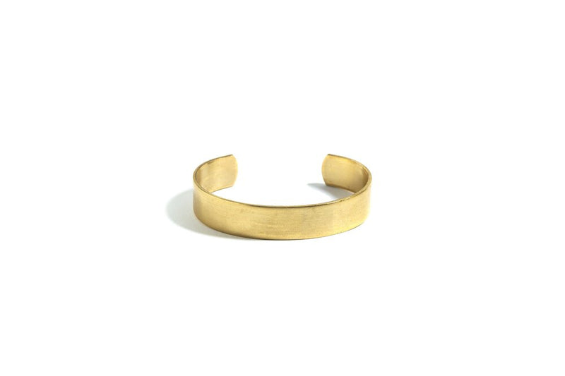 Adjustable Gold Brass Cuff (various sizes)