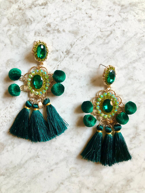 Giselle Tassel Earrings