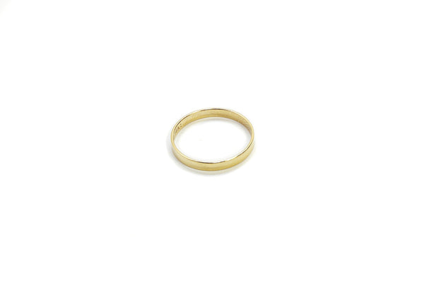 Gold Band Ring - 14K GF