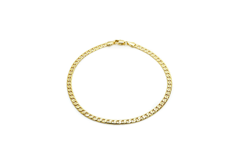 Gold Filled Classic Chain Anklet