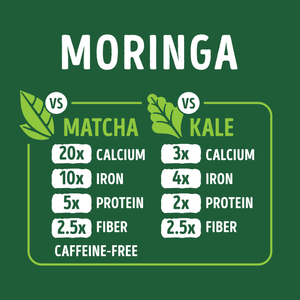Organic Pure Moringa Superfood Powder - 10.6oz