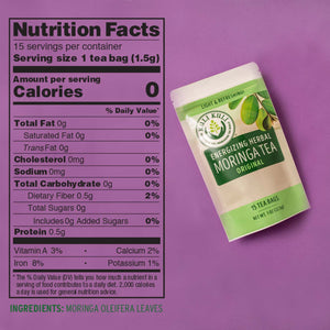 Energizing Moringa Herbal Tea - Original