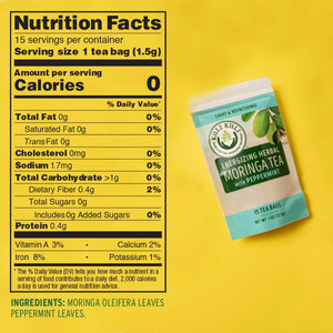 Energizing Moringa Herbal Tea - Bundle