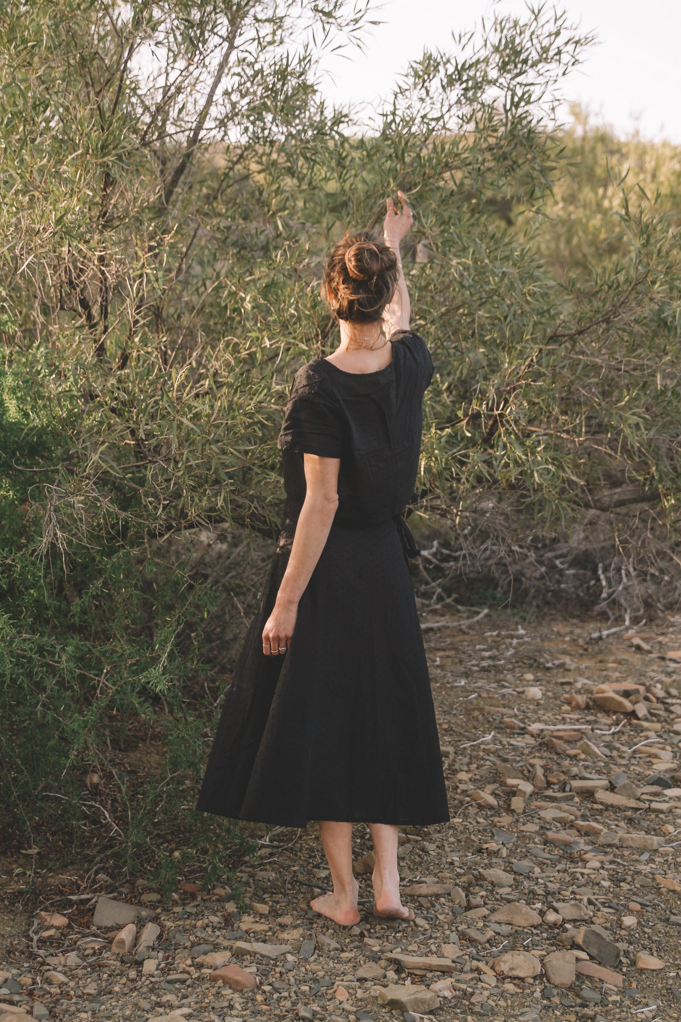 Community Wrap Skirt | Charcoal