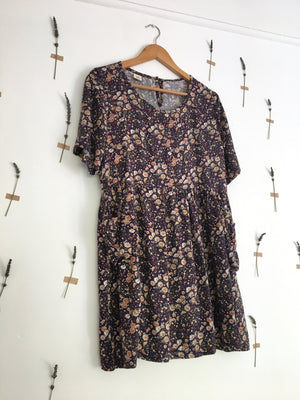 Karoo Dress | Navy Floral