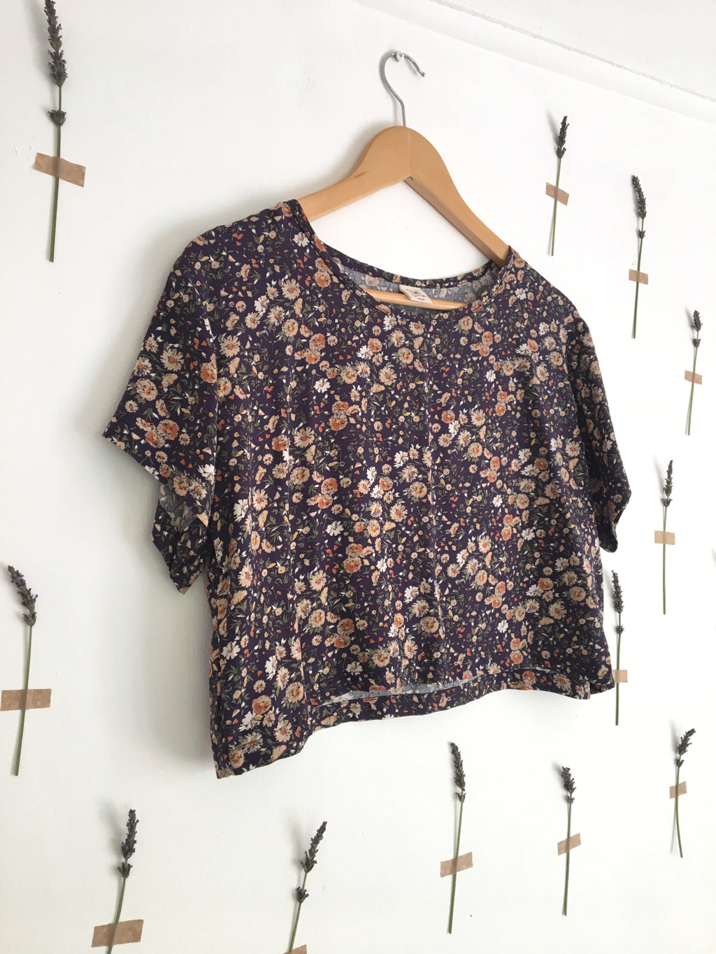 Wild Side T-Shirt | Navy Floral