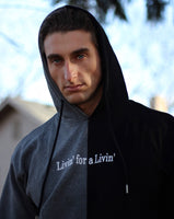 The Livin' Embroidered Hoodie (10 Left)