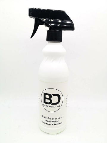 Anti-Bacterial & Anti-Viral Disinfectant Spray (500ml) (One Million Scent) - Blitz Detailing