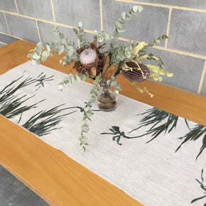Kangaroo paw table runner