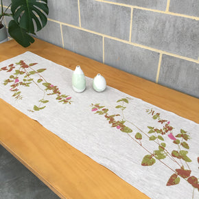 Velvet Bush table runner