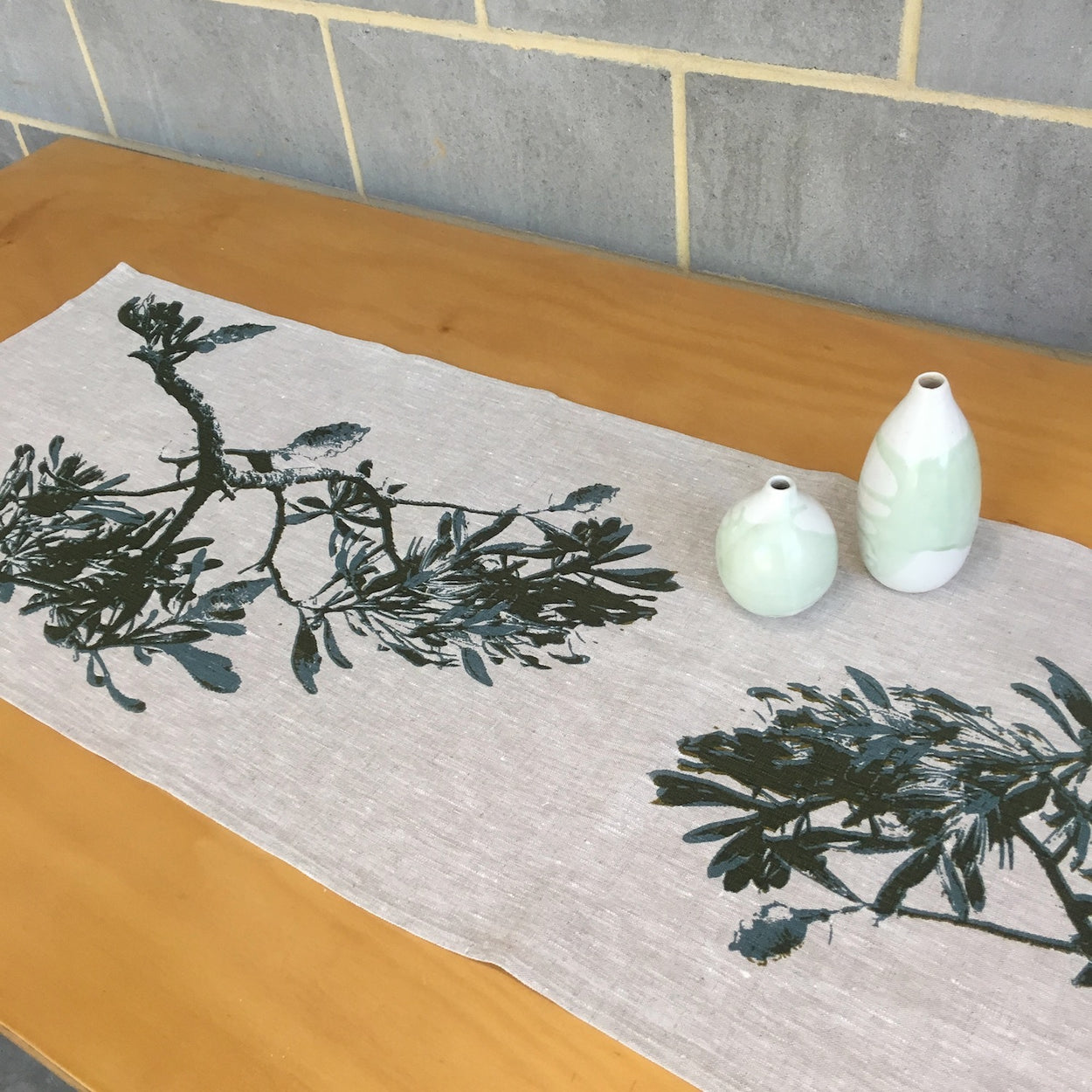Coast banksia table runner
