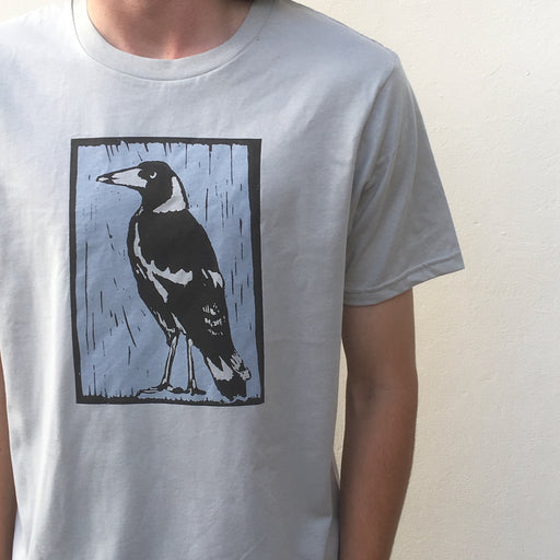 Magpie grey t-shirt