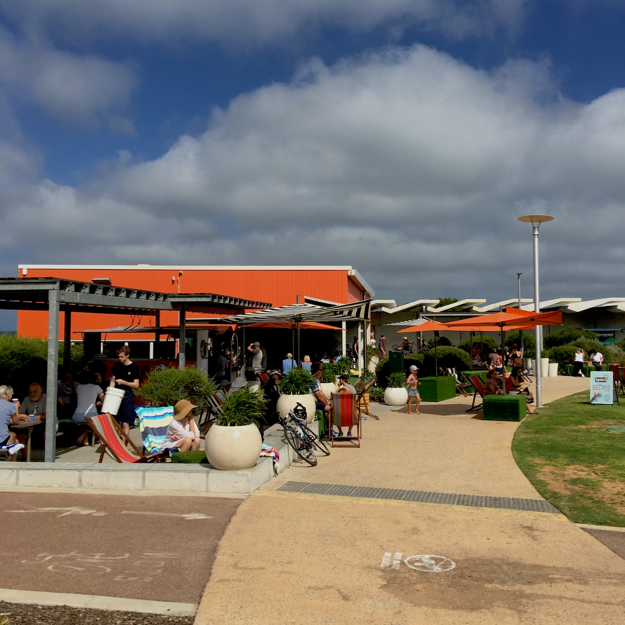 Photo of The Orange Box cafe, Leighton Beach.