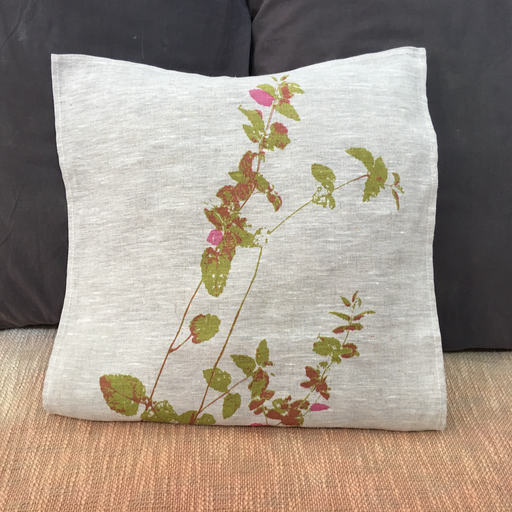 Velvet Bush cushion cover