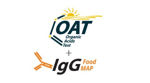 Organic Acids Test (OAT) +  IgG Food MAP with Candida + Yeast Combo - DBS