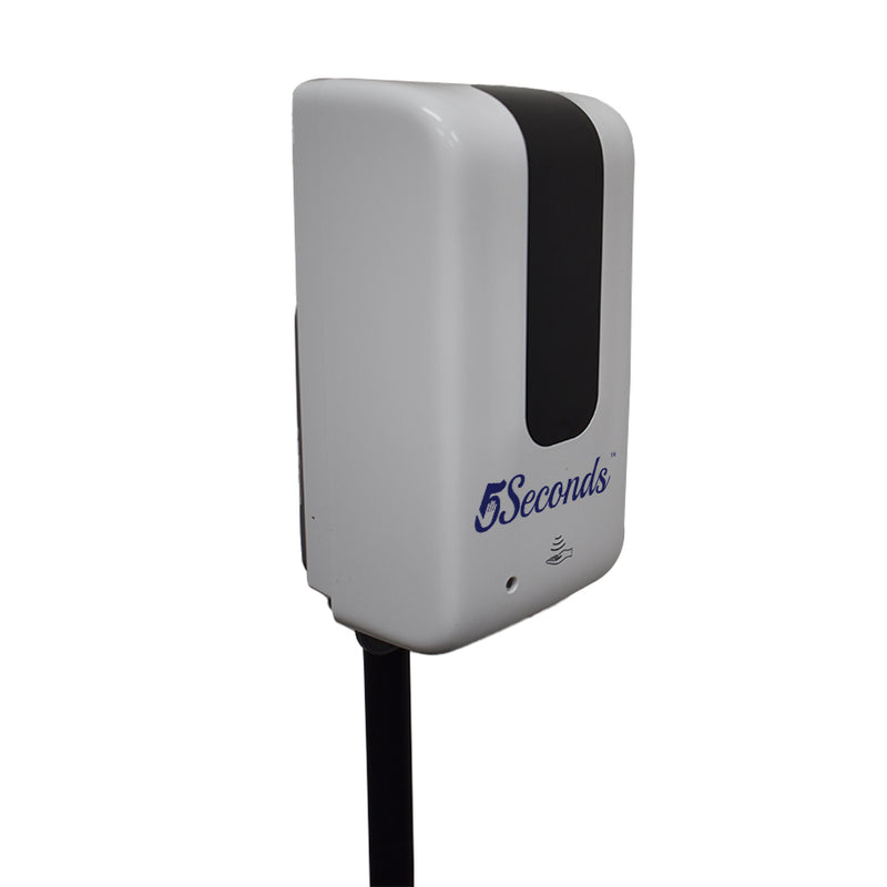 5Seconds™ Hand Sanitizer Touchless Dispenser with Floor Stand
