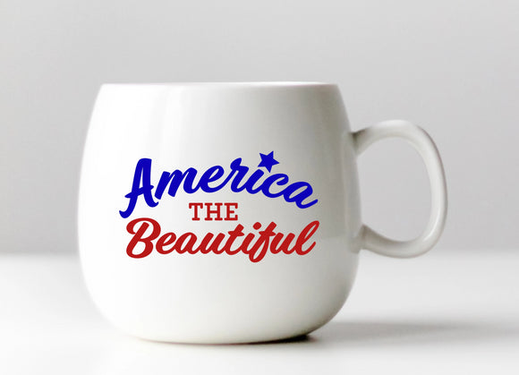 America the Beautiful Vinyl Decal
