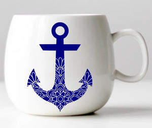 Nautical Anchor Vinyl Decal