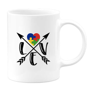 Autism Love Coffee Mug