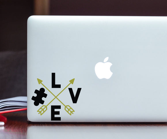 Autism Love - Autism Awareness Decal