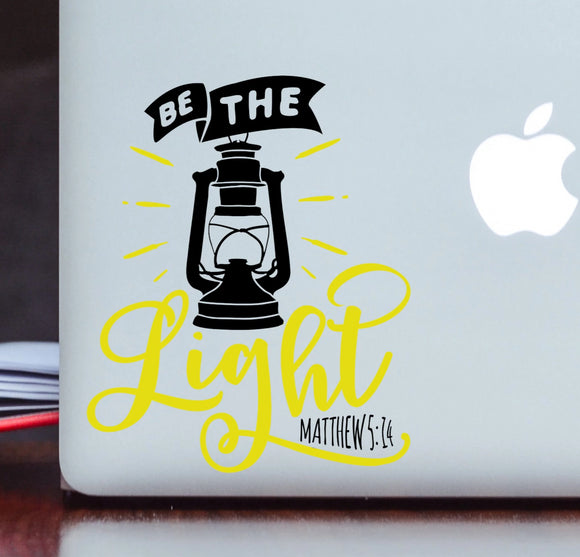 Be the Light - Christian Vinyl Decal