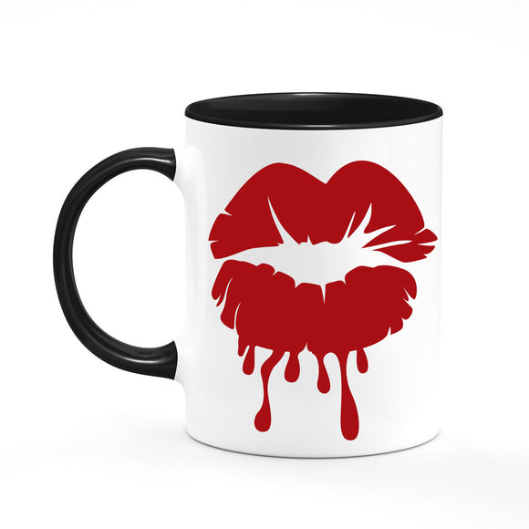 Bloody Lips Coffee Mug