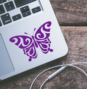 Paisley Butterfly Vinyl Decal