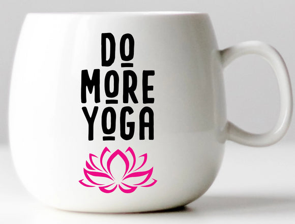 Do More Yoga Lotus Vinyl Decal