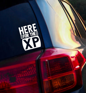 Here for the XP Vinyl Decal