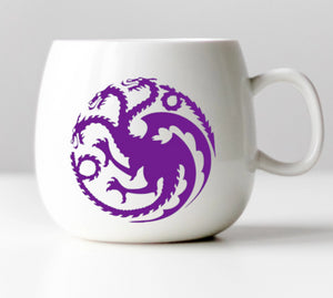 Three Headed Dragon Vinyl Decal