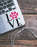 Love Pets Vinyl Decal