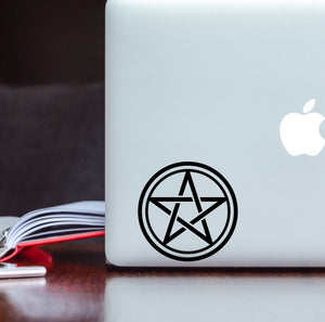 Pentagram Star Symbol Vinyl Decal