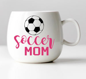 Soccer Mom Vinyl Decal