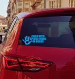Special Needs Child on Board - Emergency Medical Alert Decal