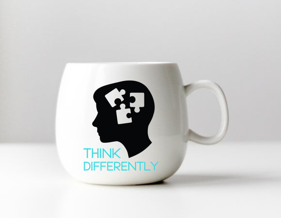 Think Differently - Autism Awareness Decal