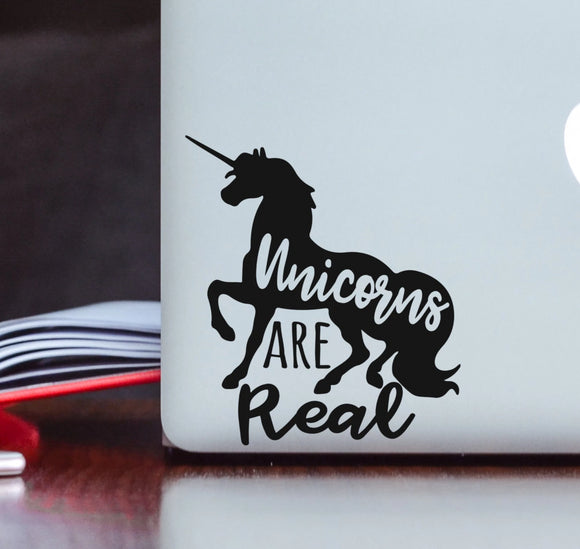 Unicorns are Real Vinyl Decal