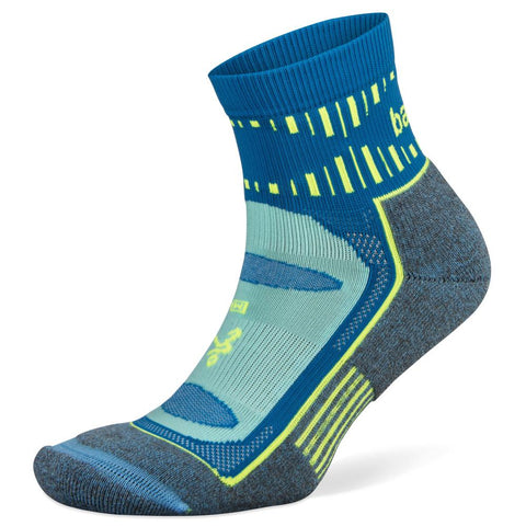 Balega Blister Resist Quarter Socks, Ethereal Blue