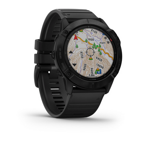NEW * Garmin Fenix 6X Pro - Black